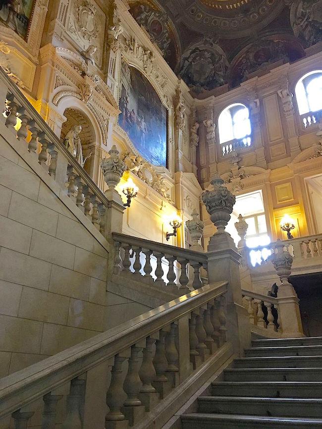 Le Palais royal de Turin (Palazzo Reale di Torino) Scalon11