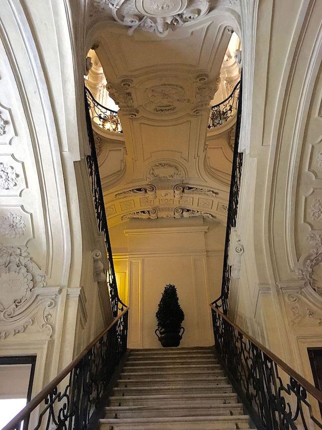 Le Palais royal de Turin (Palazzo Reale di Torino) Scalon12