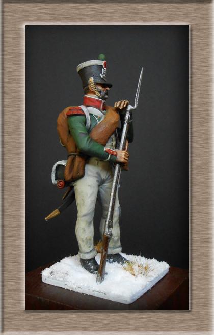 Chasseur de la Garde Royale (Royaume d'Italie) Bataille de Maloyaroslavets Russie 1812 Dscn7818