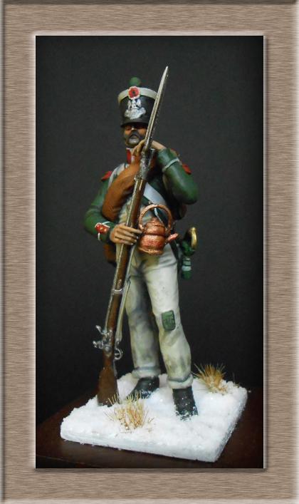 Chasseur de la Garde Royale (Royaume d'Italie) Bataille de Maloyaroslavets Russie 1812 Dscn7819