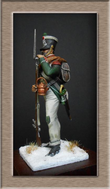 Chasseur de la Garde Royale (Royaume d'Italie) Bataille de Maloyaroslavets Russie 1812 Dscn7820