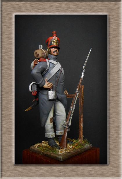 Vitrine Alain 2 Fusilier Légion du midi 1805 (Chronos miniatures 54 mm ) - Page 4 Dscn7912