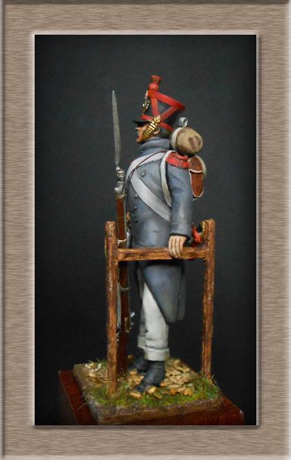 Vitrine Alain 2 mise en peinture sculpture Grenadier en surtout  1807  MM54mm - Page 4 Dscn7913