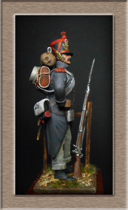 Vitrine Alain 2 mise en peinture sculpture Grenadier en surtout  1807  MM54mm - Page 4 Dscn7914
