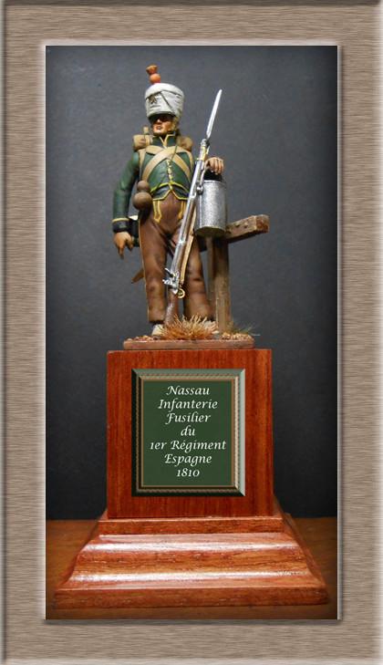 Fusilier de Nassau en Espagne 1810 MM54mm Dscn8019
