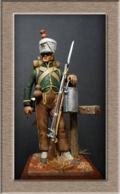 Fusilier de Nassau en Espagne 1810 MM54mm Dscn8020