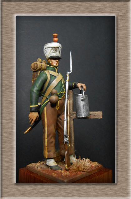 Fusilier de Nassau en Espagne 1810 MM54mm Dscn8021