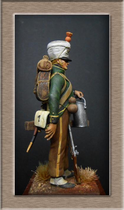 Fusilier de Nassau en Espagne 1810 MM54mm Dscn8022