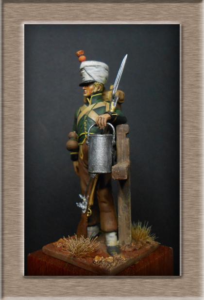 Fusilier de Nassau en Espagne 1810 MM54mm Dscn8023