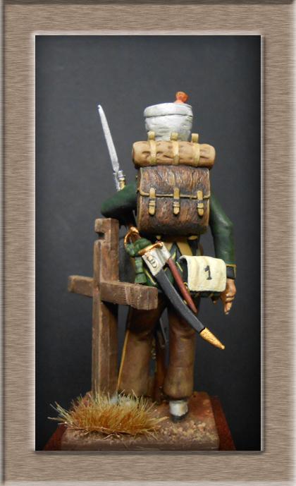 Fusilier de Nassau en Espagne 1810 MM54mm Dscn8025