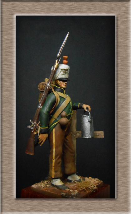 Vitrine Alain 2 mise en peinture sculpture Grenadier en surtout  1807  MM54mm - Page 4 Dscn8113