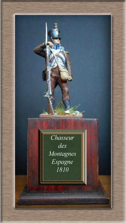 Chasseur des montagnes  1er Empire en espagne vers 1810 Photo_18