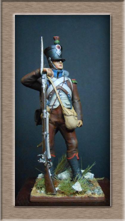 Chasseur des montagnes  1er Empire en espagne vers 1810 Photo_19