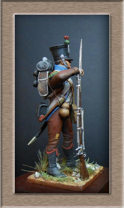 Chasseur des montagnes  1er Empire en espagne vers 1810 Photo_20