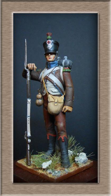 Chasseur des montagnes  1er Empire en espagne vers 1810 Photo_21