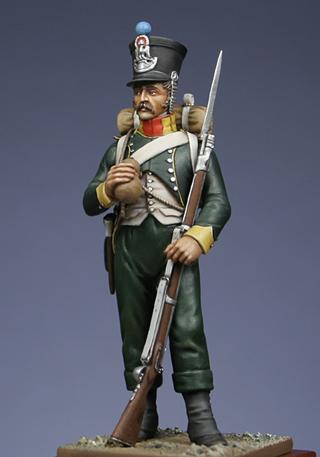 Fusilier de Nassau en Espagne 1810 MM54mm Rpc111
