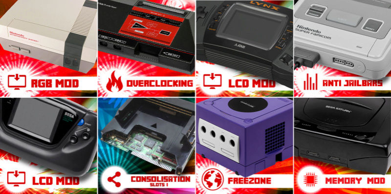 GEMBA - Retro Gaming & Modding - Le Coin Psx Rentry13