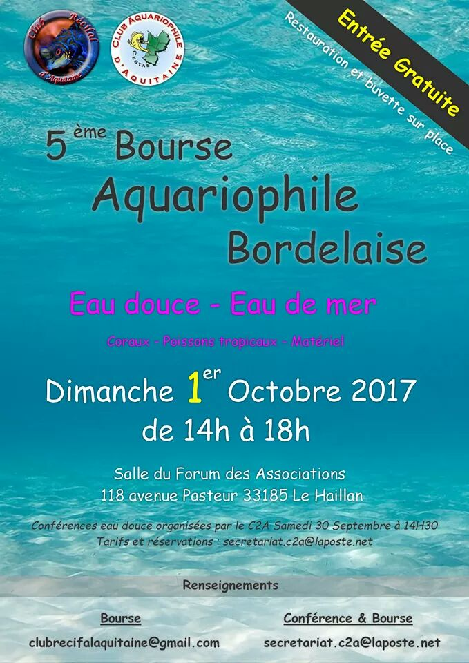 Bourse aquariophile Bordelaise 2017 Fb_img11