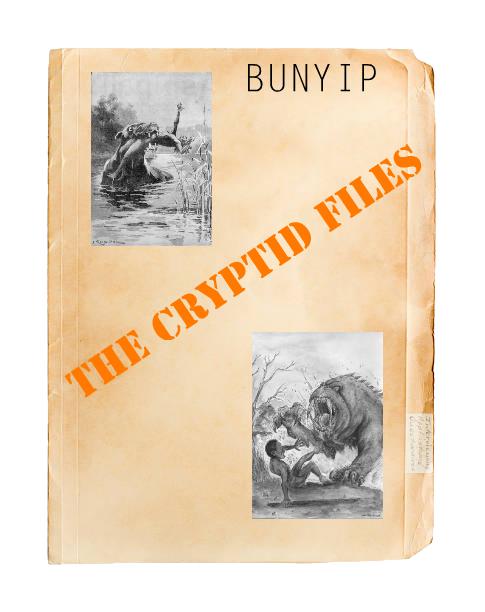 Cryptids Bunyip... Img_0914