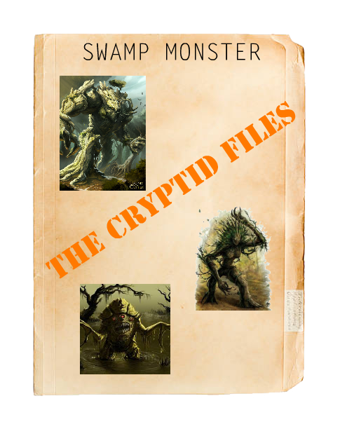 Cryptids swamp monster... Img_0918