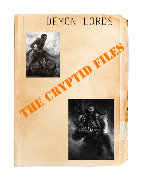 Cryptids demon lords... Img_1118