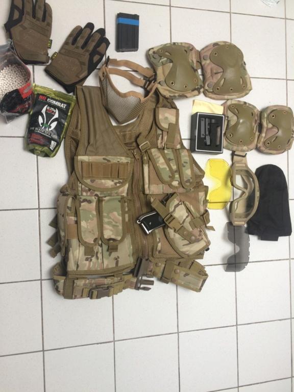 Pack d'airsoft  93f67e10