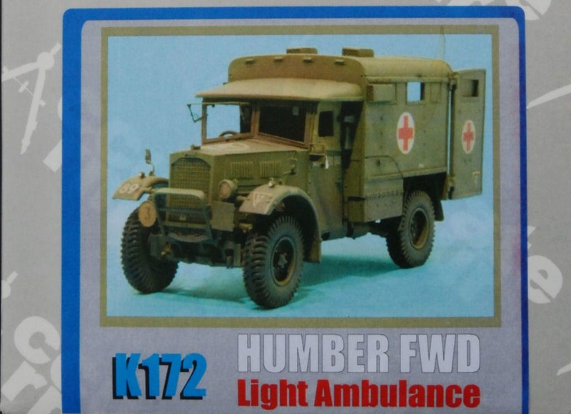 Humber FWD Ambulance Accurate Armour 1/35 Accarm10