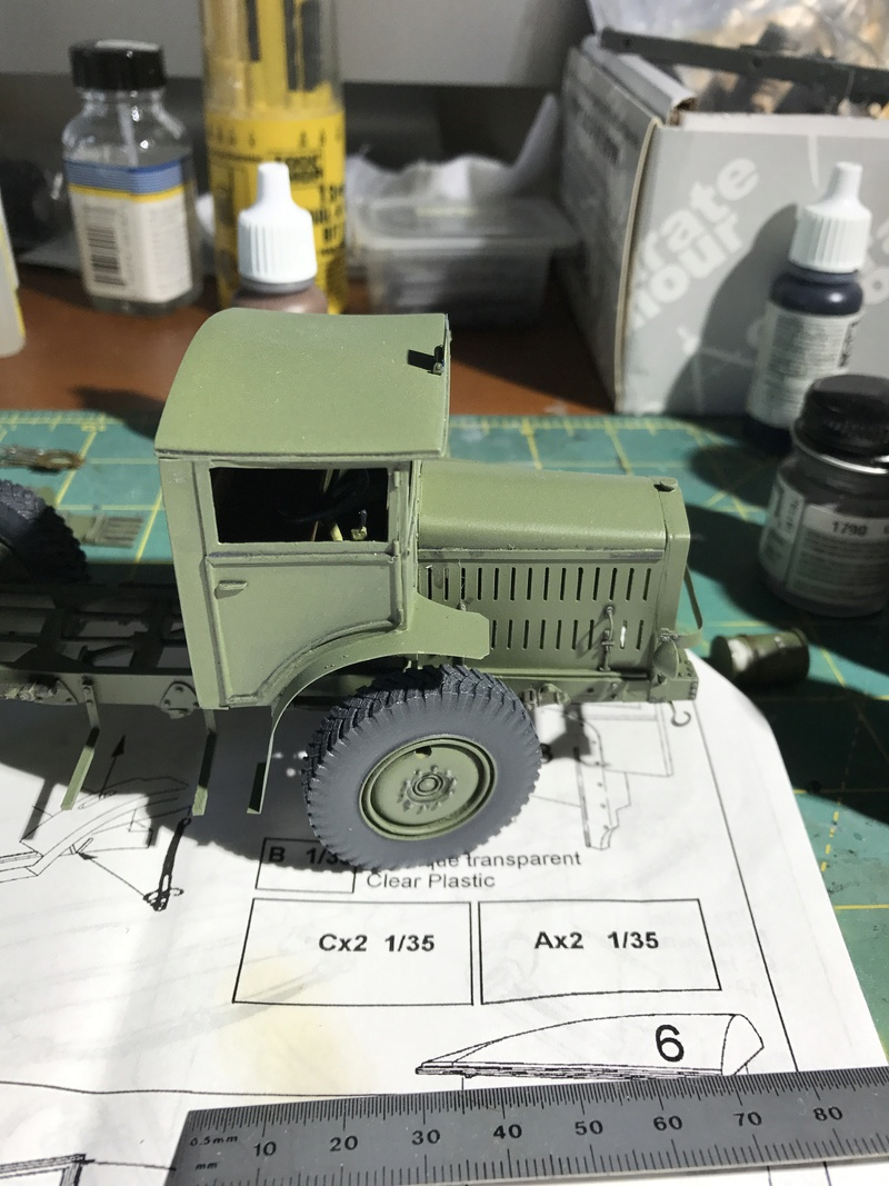 Les gros culs Episode 01 Latil TAR H2 Azimut 1/35 - Page 2 Img_2328