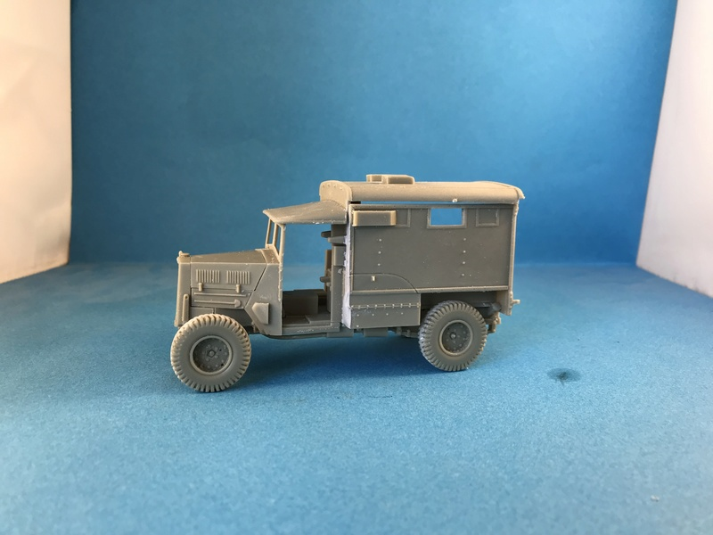 Humber FWD Ambulance Accurate Armour 1/35 Img_2413