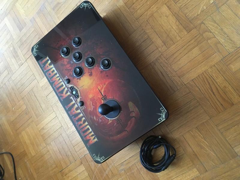 (est) Stick arcade Mortal Combat 360 Img_1311