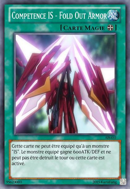 Les cartes à Kazu et Sinna Compet10