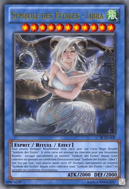 Les cartes à Kazu et Sinna Symbol60
