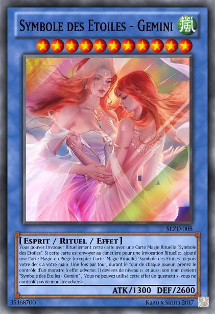 Les cartes à Kazu et Sinna Symbol61