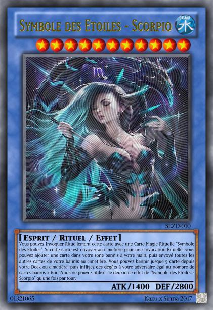 Les cartes à Kazu et Sinna Symbol69