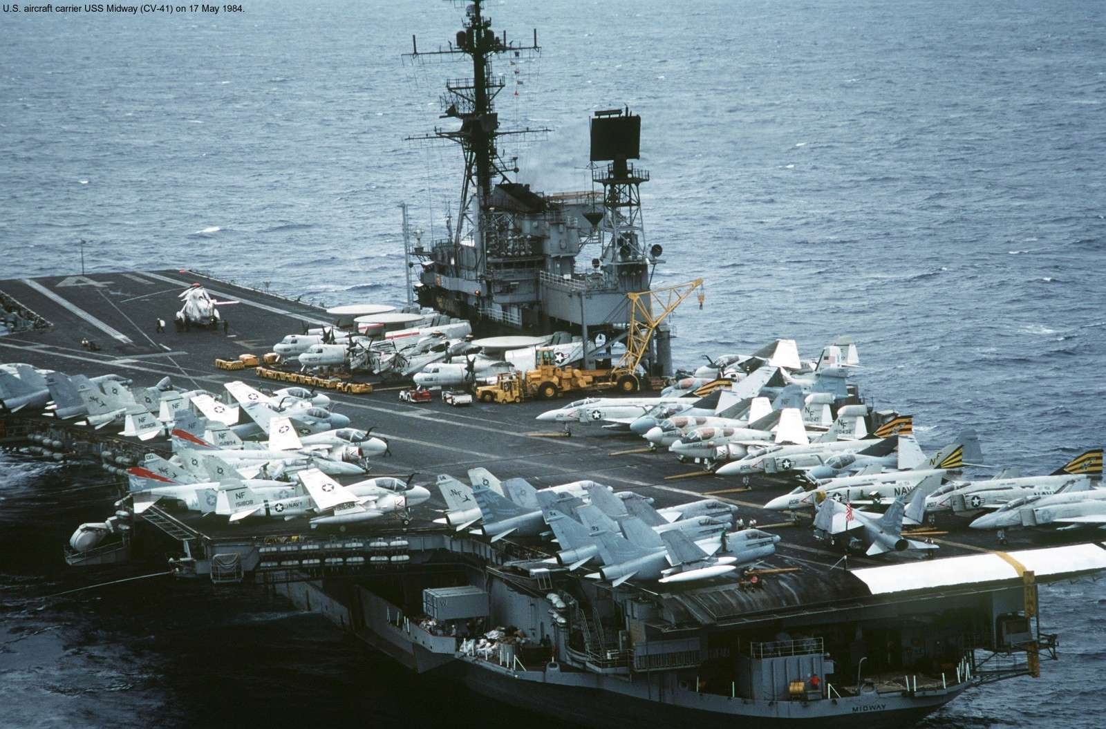 [USS Midway CVA-41] Porte avions lourd américain-700e-Orange Hobby - Page 2 9rru5t11