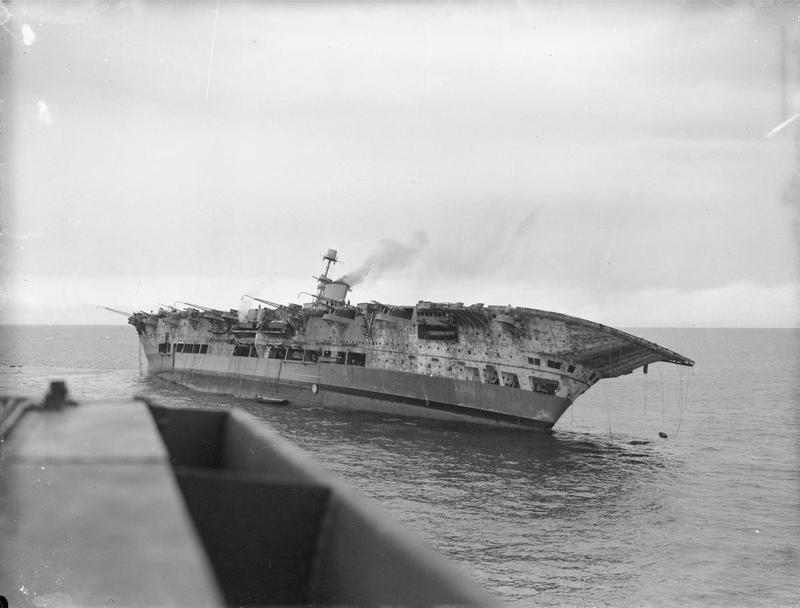 HMS ARK ROYAL. (91). 1/350.  MERIT Ark_ro15