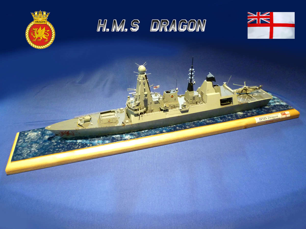 Destroyer Type 45 HMS DRAGON Dragon10