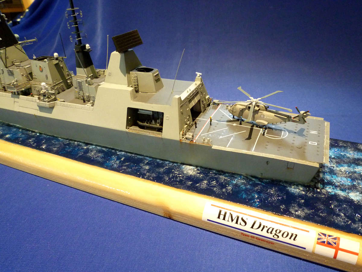 Destroyer Type 45 HMS DRAGON Dragon19