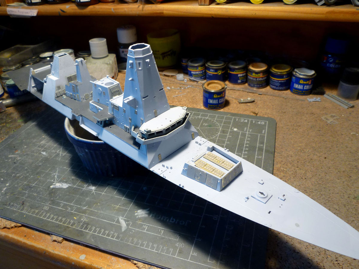 HMS DRAGON Destroyer Type 45 Airfix 1/350 + P.E Bigblueboy - Page 2 Hms_dr26