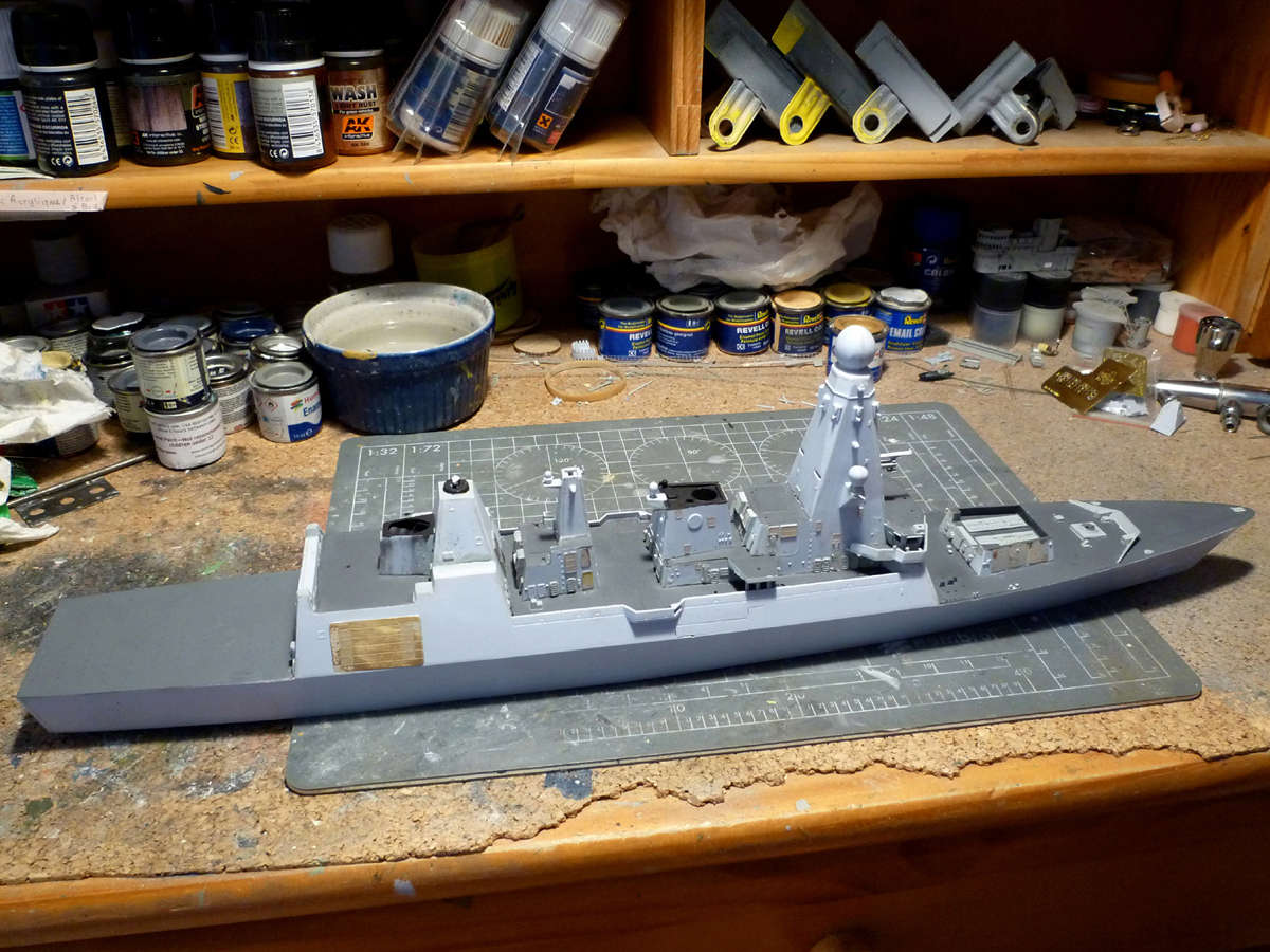 HMS DRAGON Destroyer Type 45 Airfix 1/350 + P.E Bigblueboy - Page 3 Hms_dr30