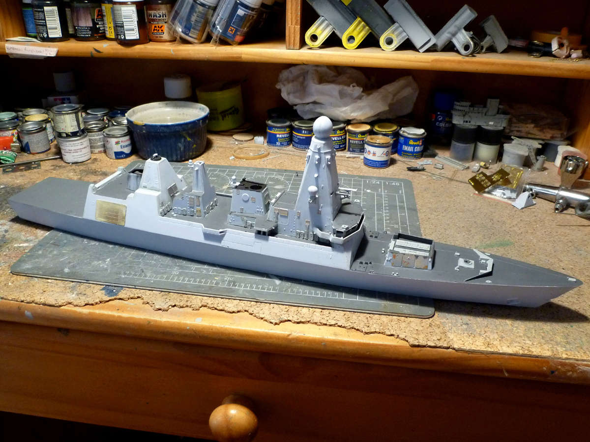 HMS DRAGON Destroyer Type 45 Airfix 1/350 + P.E Bigblueboy - Page 3 Hms_dr31