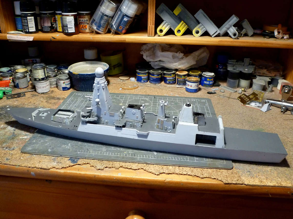 HMS DRAGON Destroyer Type 45 Airfix 1/350 + P.E Bigblueboy - Page 3 Hms_dr33