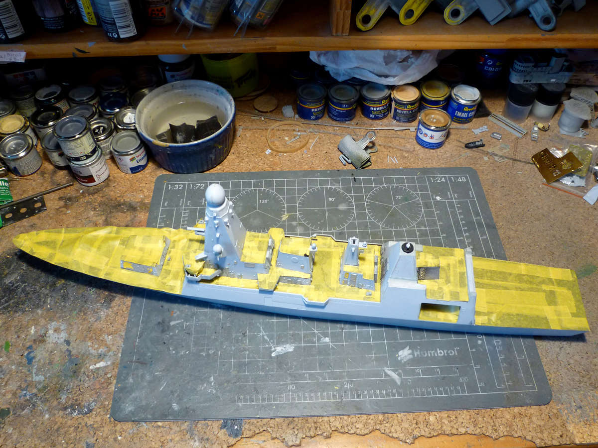 HMS DRAGON Destroyer Type 45 Airfix 1/350 + P.E Bigblueboy - Page 3 Hms_dr35