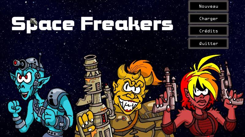 Space Freakers, mon nouveau jeu AGS 310