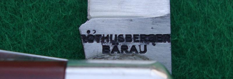 Die Messerschmiede Röthlisberger in Bärau / La Coutellerie Röthlisberger à Bärau Dsc07420