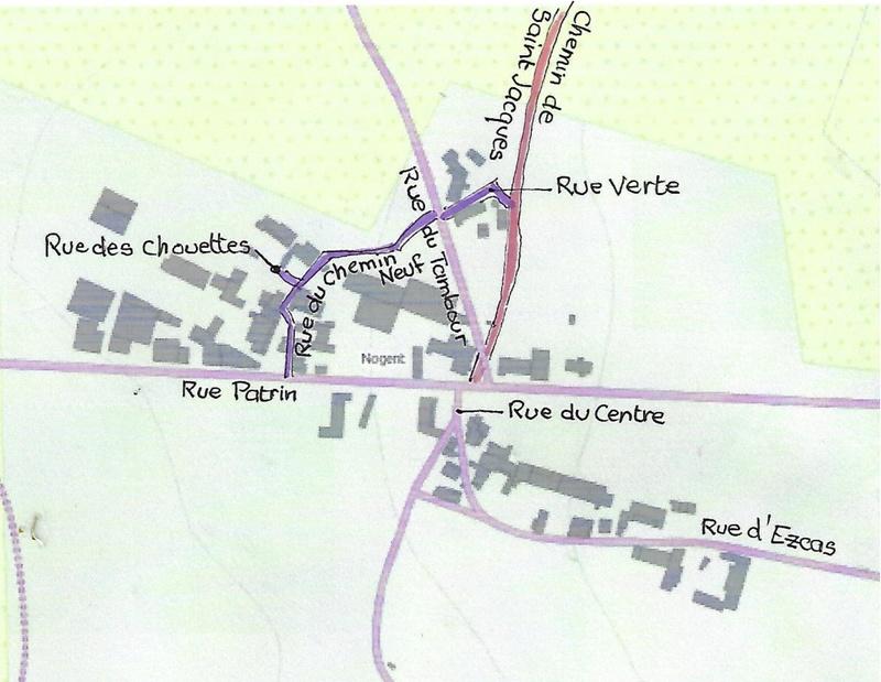 Plans des hâmeaux de la Chapelle-Sous-Brancion 71700 112