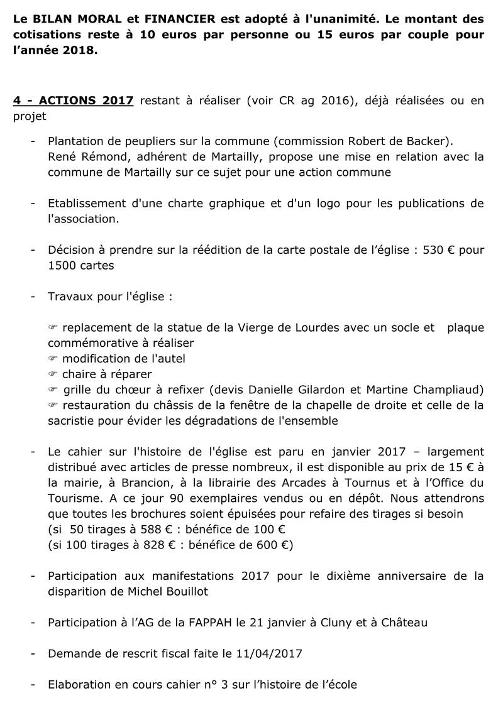 compte-rendu de l'Assemblée Générale du 24 juin 2017 310