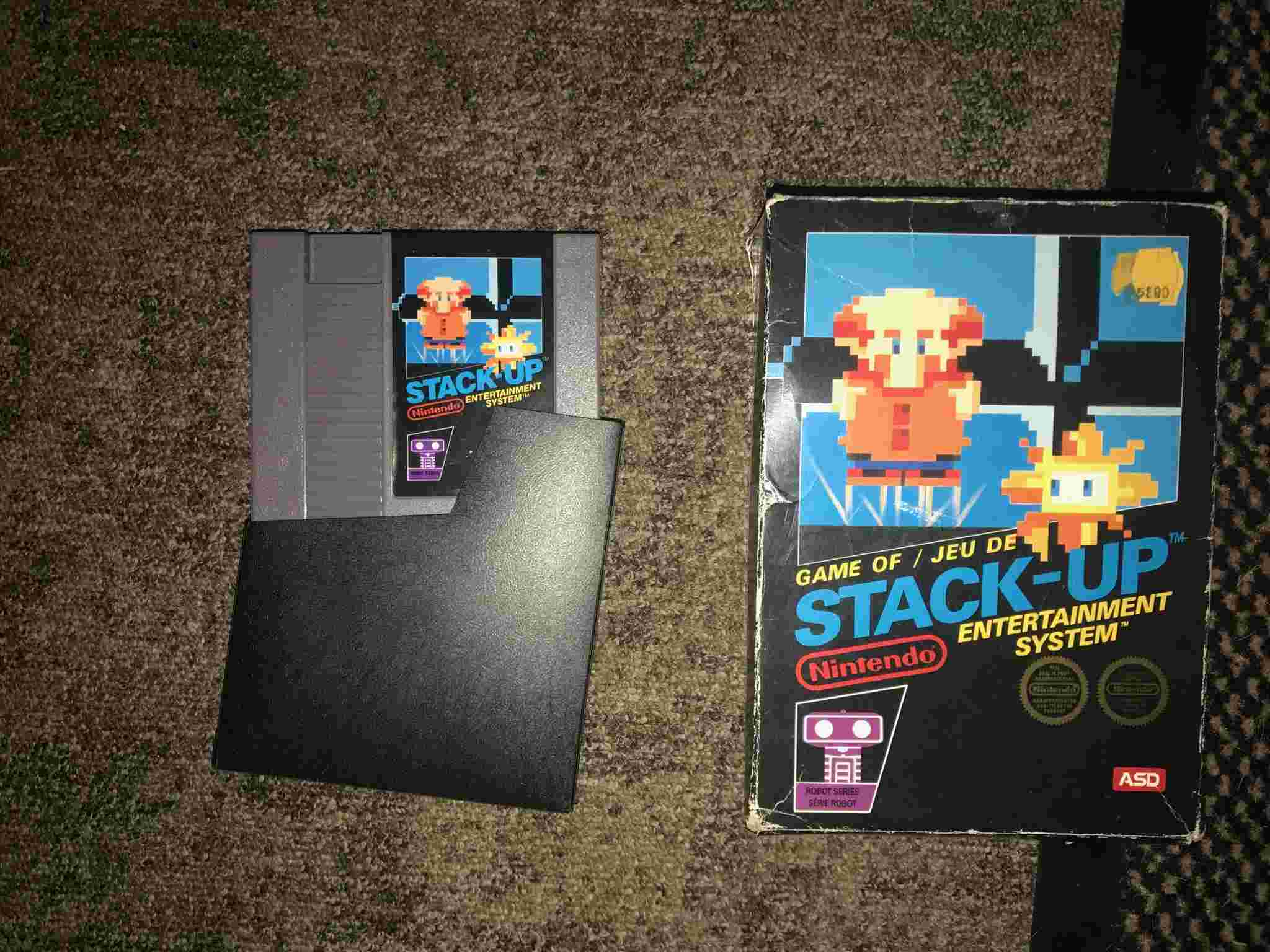EST - Stack Up Nes ASD complet et Deluxe Set ASD Ovyo2412