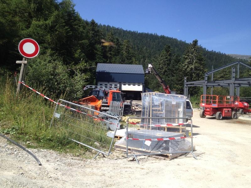 Construction d'un nouveau hangar à dameuses Ax 3 Domaines Image_16