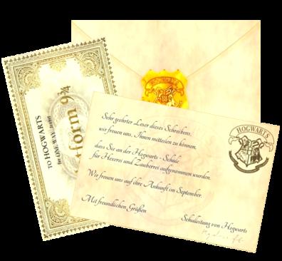 Schreiben aus Hogwarts